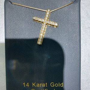Jewelry - 14k Cross necklace